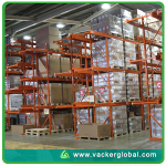 Temperature mapping distribution warehouse