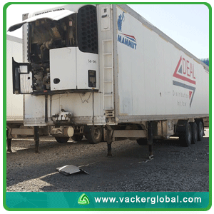 Temperature mapping reefer truck
