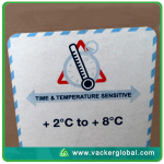 Temperature qualification study of cold chain