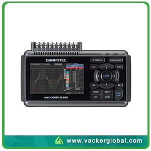 Graphtec-200 Channel Data Logger-GL820 VackerGlobal