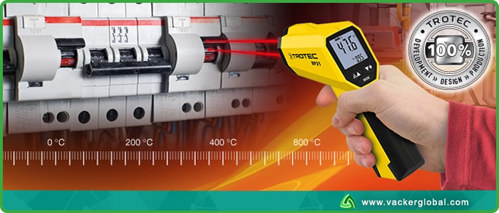 IR thermometer application vackerglobal