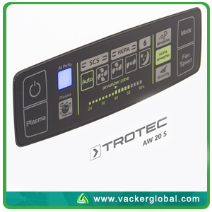Air Purifier Display Panel Vacker Global