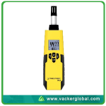 Digital Hygrometer Front View Vacker Global