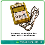Cold box with data logger VackerGlobal