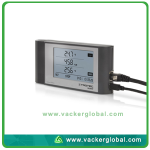 DL 200P climate data logger-connections