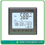 Temperature Humidity-and CO2 Data Logger
