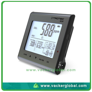 Temperature Humidity and CO2 Data Logger BZ30