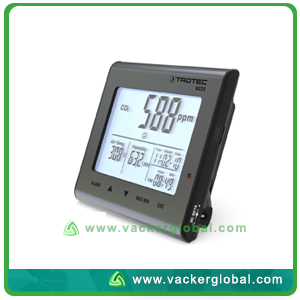 Air Quality Meter BZ25 Side View VackerGlobal