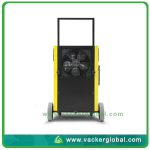 Condensation dehumidifier rear side Vacker Dubai