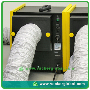 Desiccant dehumidifier piping Dubai UAE