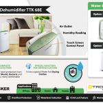 Trotec dehumidifier TTK 68 , Vackerglobal