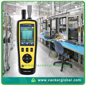 Particle Counter PC200 Front Side VackerGlobal