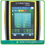 Particle Counter Screen Display VackerGlobal