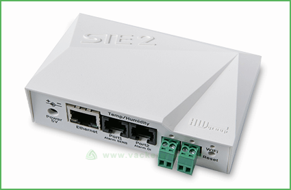 ste 2 ethernet and wifi enabled monitoring device