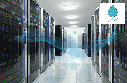 Humidity monitoring in server rooms