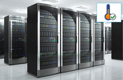 Temperature monitoring in server room