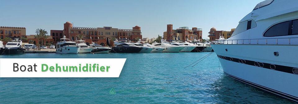 Boat Dehumidifier by Vacker Global