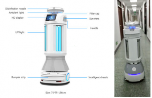 Sterilization-Disinfection-Robot-for-Shopping-Mall-and-Office-buildings