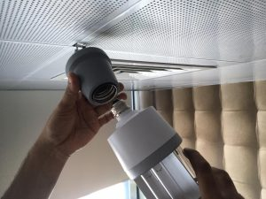 Fixing-method-of-UVC-ceiling-Lamp-Dubai-Abudhabi-Riyadh