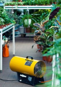 Gas Heater VAC33ET for Greenhouse