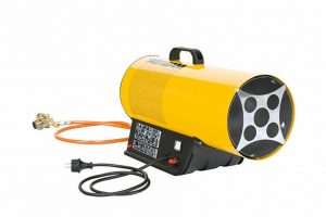 Gas heater for dairy farm outdoor camps construction sites