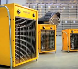 Industrial heater for factories and warehouses