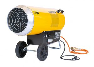 gas heater VAC103ET for farms poultry dairy sites tents warehouse