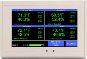 temperature-humidity-recording-with-phone-SMS-alert-system